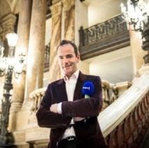 Franck Ferrand en direct de Poitiers © A.Detienne/Capa Pictures/Europe 1