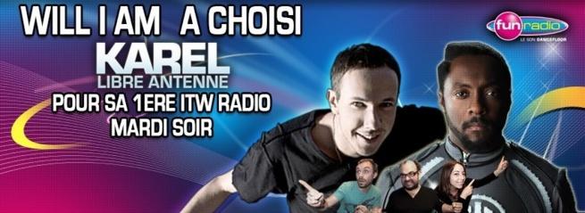 Fun Radio décroche Will I Am