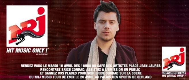 Brice Conrad sur NRJ Saint-Etienne