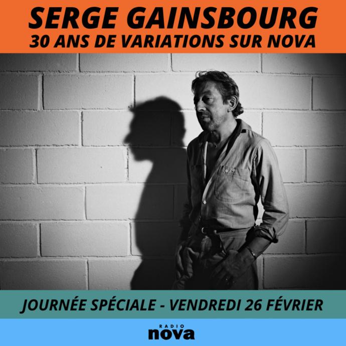 Radio Nova rend hommage à Gainsbourg