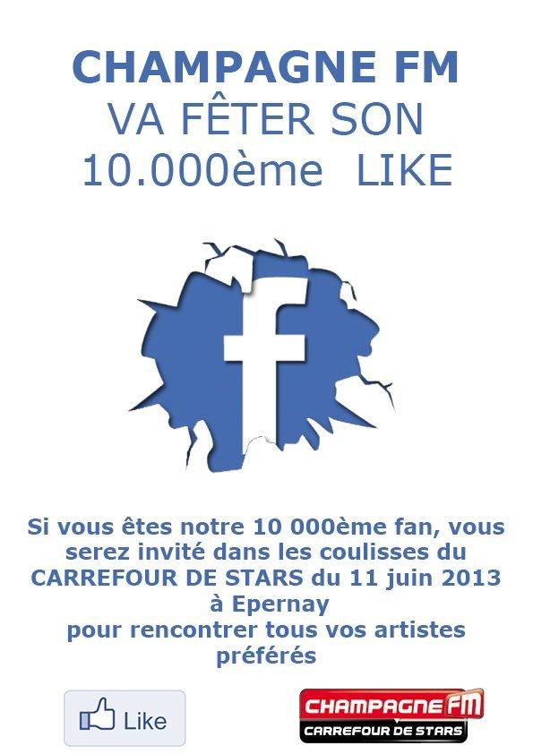 10 000 fans de Champagne FM