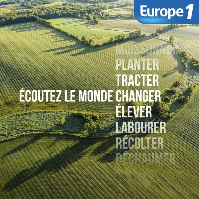 Europe 1 s'installe dans le salon des agriculteurs