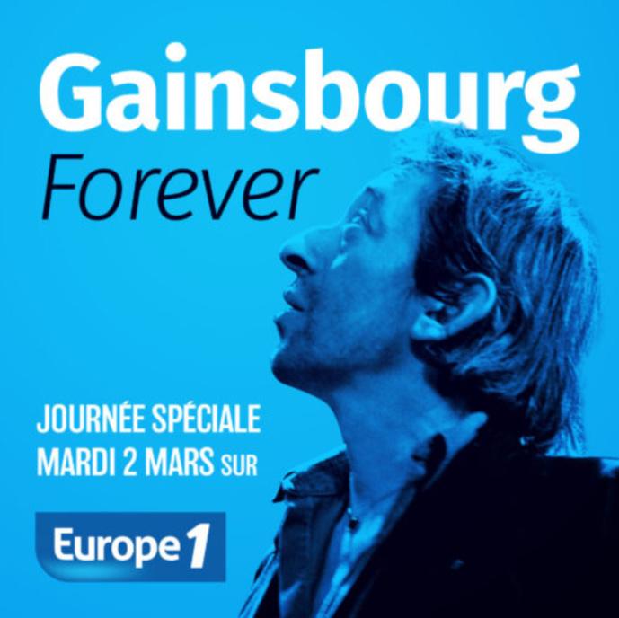Europe 1 rend hommage à Serge Gainsbourg