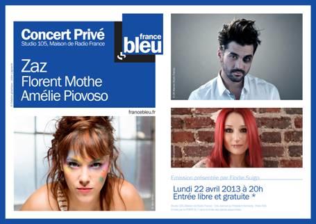 Concert Privé sur France Bleu