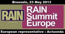 Rain Summit à Bruxelles