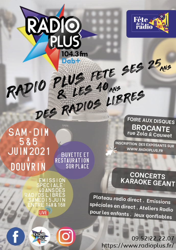 En 2021, Radio Plus fête ses 25 ans