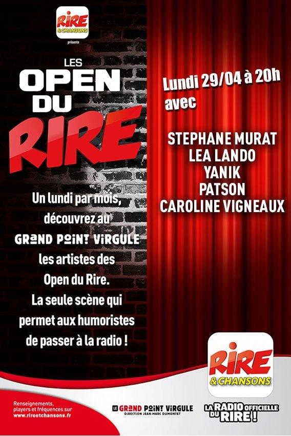 Open du Rire avec Rire & Chansons