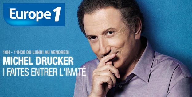 L'avenir de Drucker sur Europe 1 ? Pour l'instant, c'est motus et bouche cousue