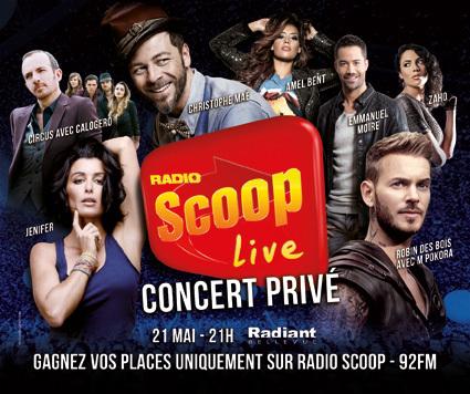 7 artistes au Scoop Live