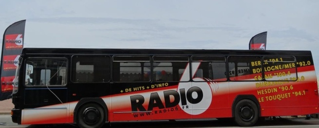 Dans le (beau) bus de Radio 6