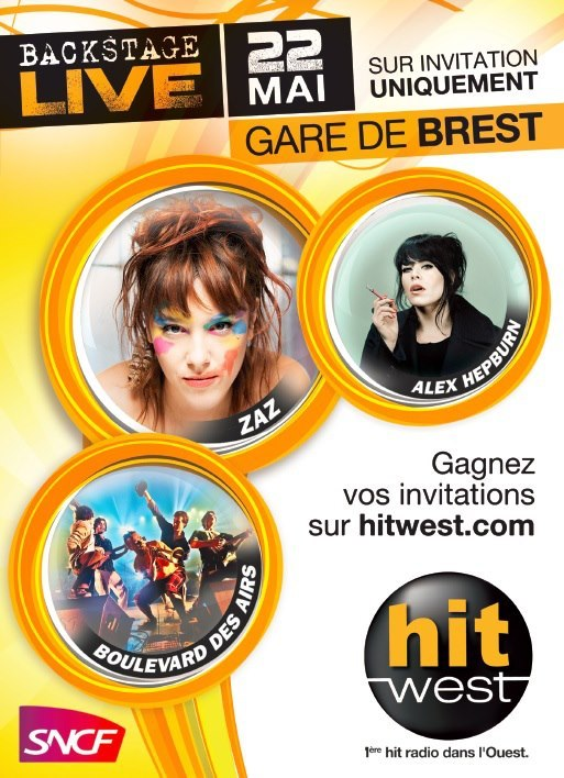 Hit West en gare de Brest