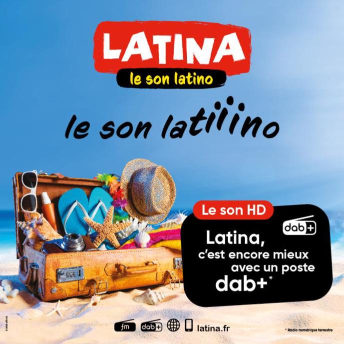 Latina arrive à Saint-Tropez sur 89.1 FM