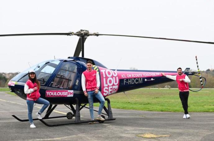 """L'Hélico Toulouse FM sera """"au service des Toulousains"""" promet Toulouse FM. Ce sera aussi un outil de promotion positive de ceux qui œuvrent pour la collectivité..."""