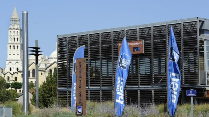 Les locaux de France Bleu Périgord situés Cours Saint-Georges à Périgueux en Dordogne