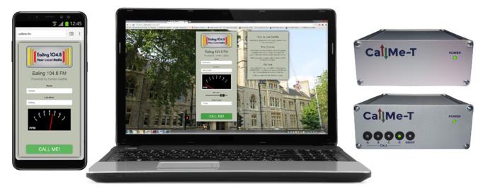 CallMe fonctionne sur ordinateur, smartphone ou tablette avec la solution back-end low cost CallMe-T. © Vortex.