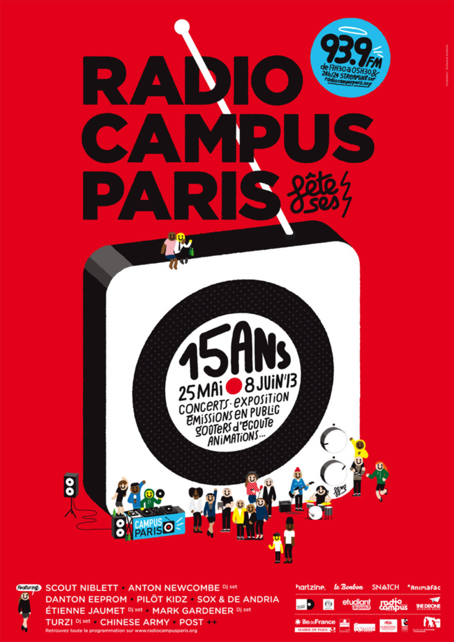 Campus Paris a 15 ans