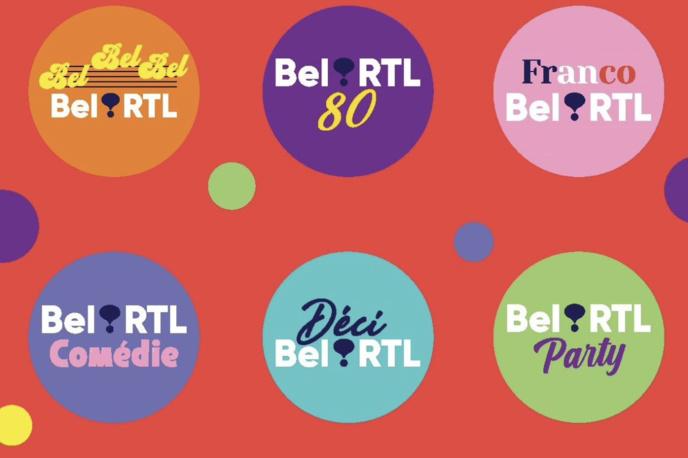 Six nouvelles webradios pour Bel RTL