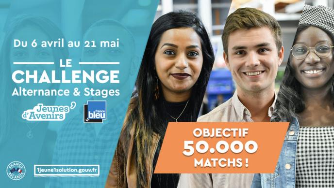 """France Bleu lance le challenge """"Alternance & Stages"""""""