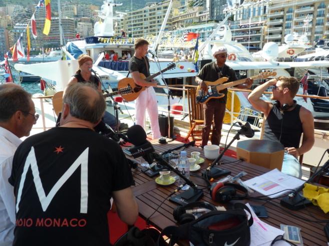 Il fait toujours beau à Monaco...