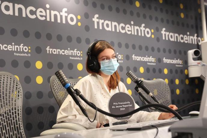 """Le Prix franceinfo du Jeune Reporter"""" a été attribué à Philippine Oisel, étudiante du Centre Universitaire d'Enseignement du Journalisme (CUEJ) de Strasbourg"""
