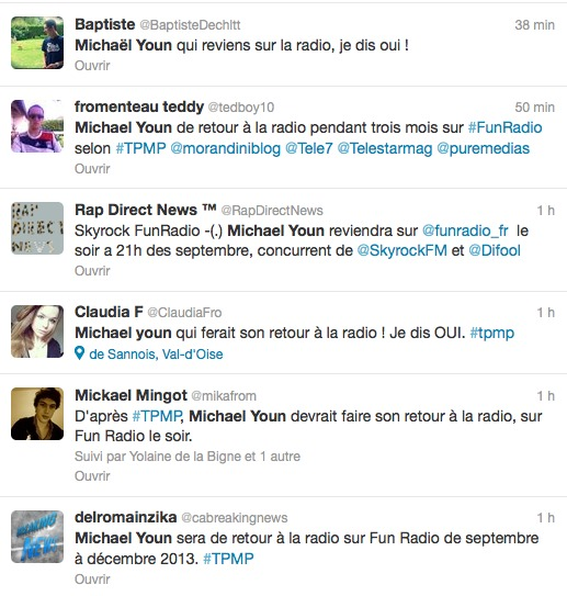 Michaël Youn sur Fun Radio ?