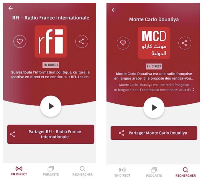 RFI et Monte Carlo Doualiya rejoignent Radioplayer France