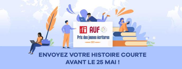 Lancement de l'édition 2021 du Prix RFI – AUF Jeunes écritures