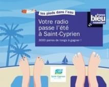 France Bleu Roussillon à la plage