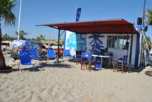 L'an passé déjà, France Bleu Roussillon avait installé son studio sur une plage  © Frédéric.Liénard / France bleu Roussillon
