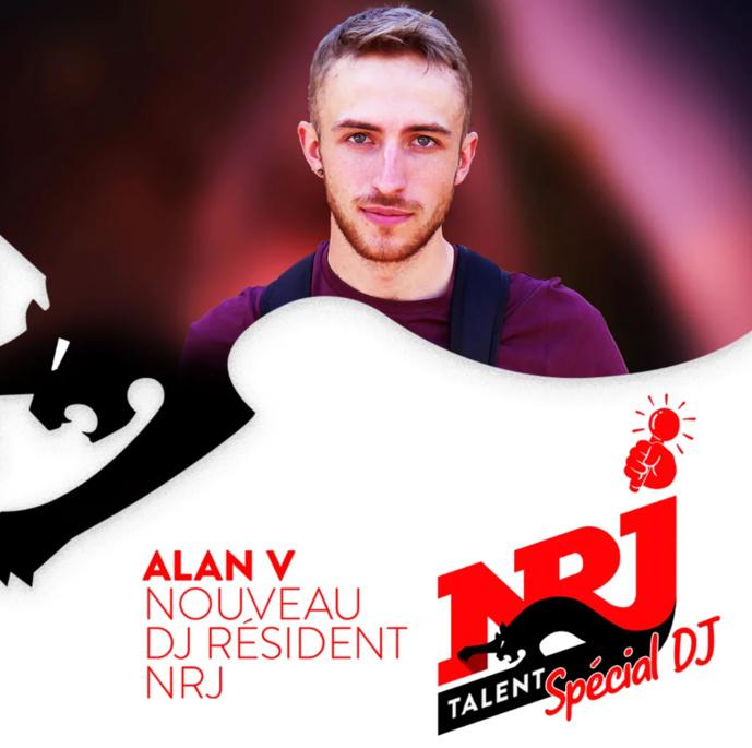 """""""NRJ Talent"""" : Alan.V remporte le concours spécial DJ"""
