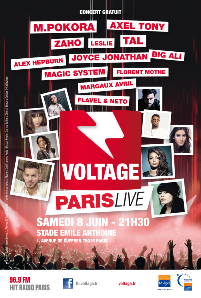 Voltage Paris Live 2013