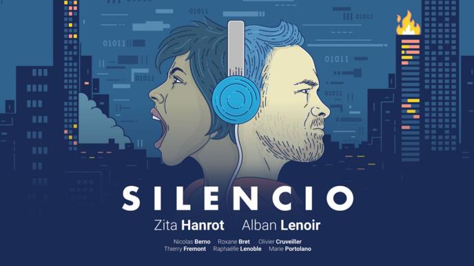 Silencio est mis en musique par Simon Lauris. La série qui compte 10 épisodes sera diffusée à partir du 3 mai.