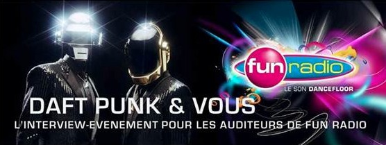 Daft Punk en interview sur Fun Radio