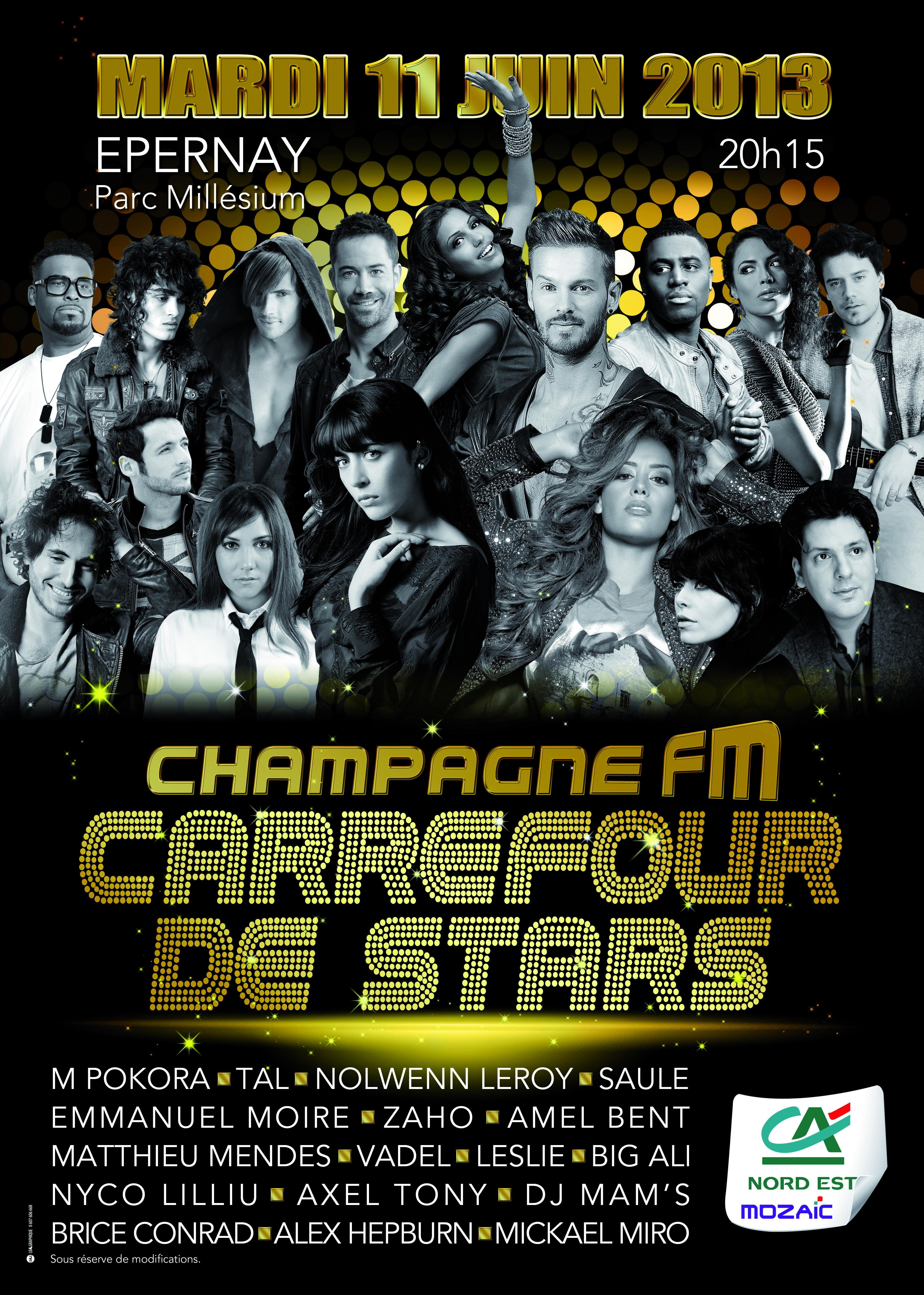 """Un sacré """"Carrefour de Stars"""""""