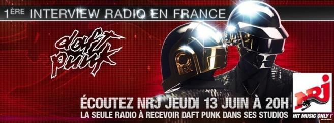 Daft Punk (en direct) sur NRJ