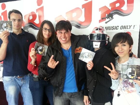 Les 5 auditeurs chanceux qui ont rencontré ce matin les Daft Punk