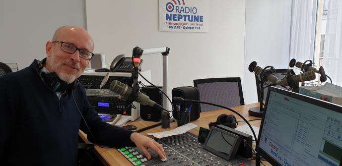 Jean-Louis le Corvoisier de Radio Neptune