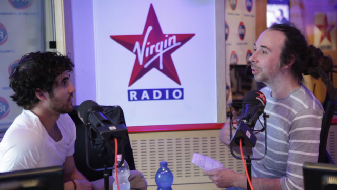Darren Criss sur Virgin