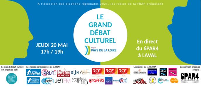 """Les radios de la FRAP organisent """"Le Grand débat culturel"""""""