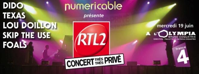 Aucune place en vente pour ce concert unique : les 2800 places ont été remportées sur RTL2, rtl2.fr ainsi que sur les pages officielles de la station.