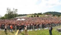L'affluence le 14 juillet dernier au Lac des Sapins pour le Sccop Music Tour 2012