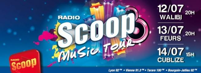 Scoop Music Tour : le millesime 2013