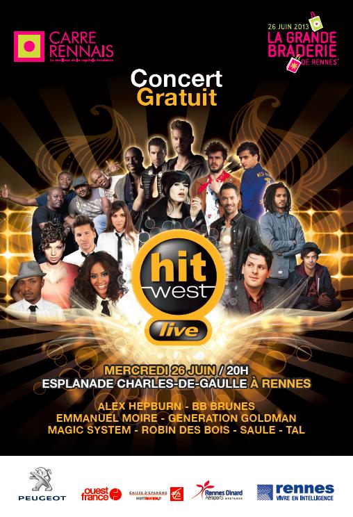 Hit West Live : les coulisses