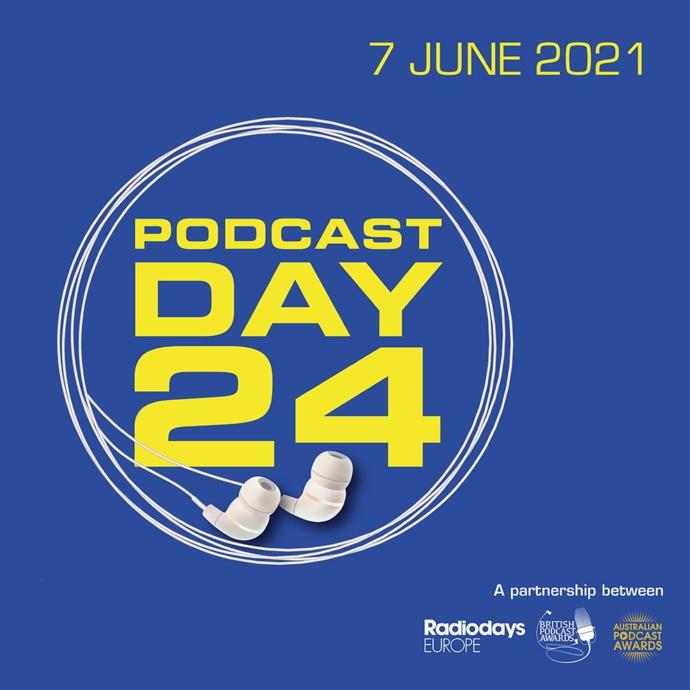 """Le """"Podcast Day 24"""" un événement international de 24 heures"""
