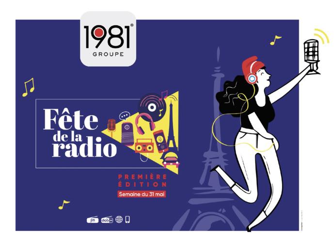 Les radios du Groupe 1981 se mobilisent pour la Fête de la radio