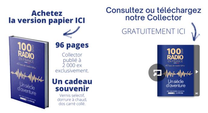96 pages pour fêter la radio française