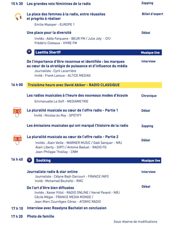 "Aujourd'hui, ""La Radio fait son show"" à Radio France"