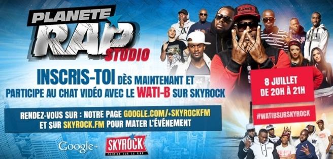 Skyrock accueille le label Wati-B