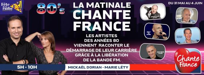 Jusqu'au 4 juin, Chante France fête la radio