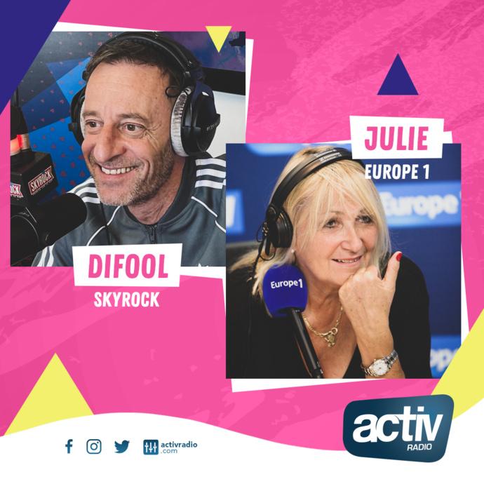 Activ Radio reçoit l'animateur Difool pour fêter la radio